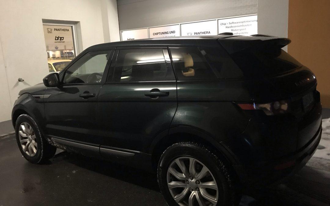 Land Rover Range Rover Evoque Kennfeldoptimierung