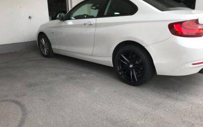 BMW 220d Kennfeldoptmierung