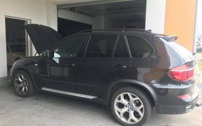 BMW X5 Kennfeldoptmierung