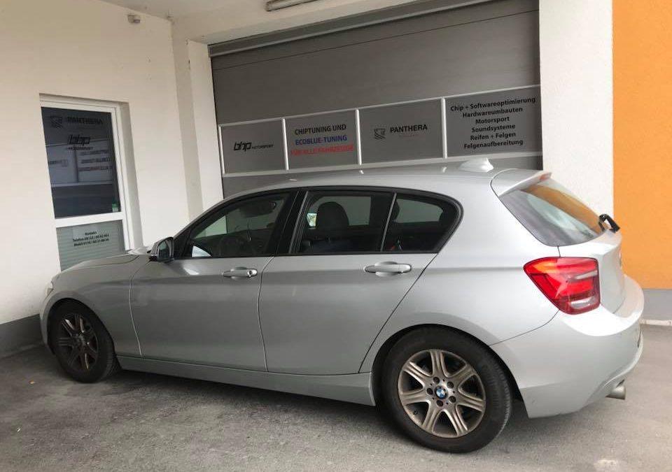 BMW 120d Kennfeldoptmierung & Pedal