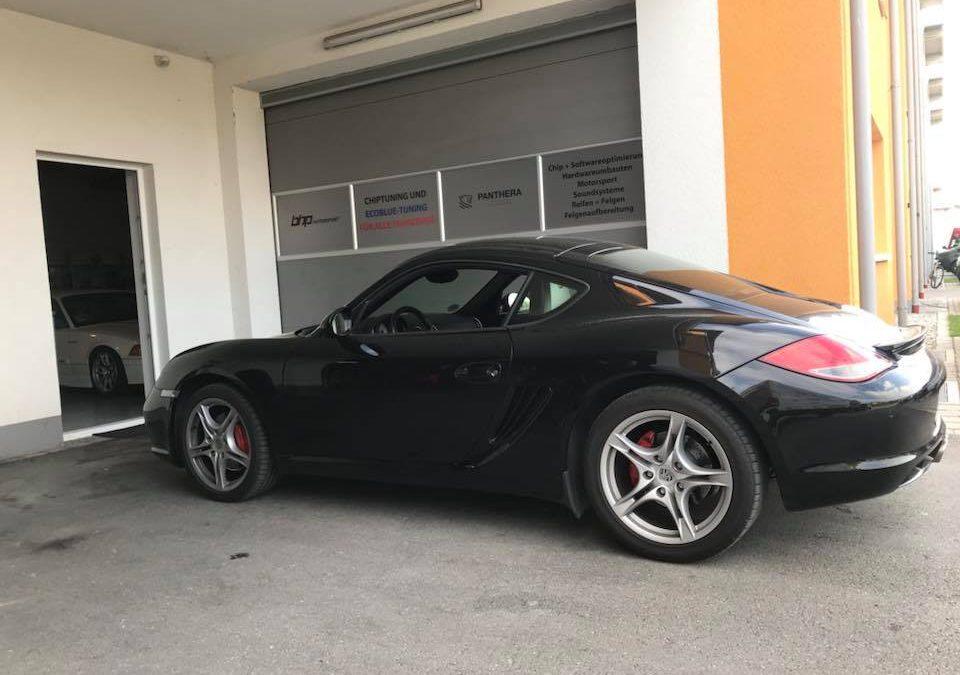 Porsche Cayman S Kennfeldoptimierung