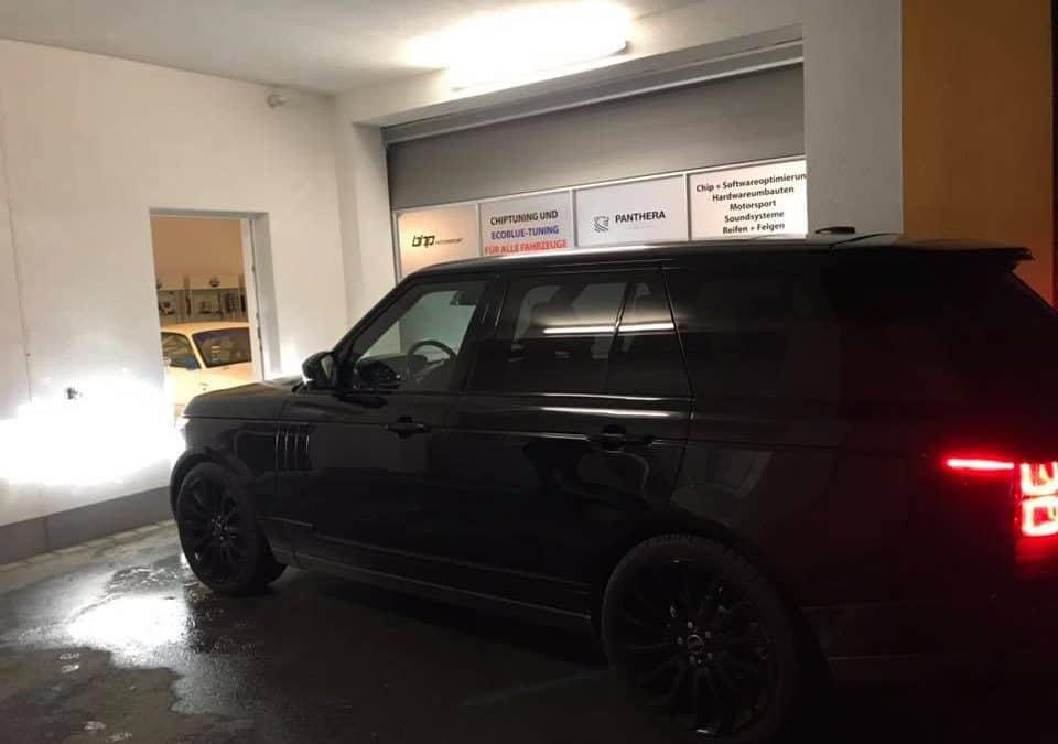 Range Rover 4,4D Kennfeldoptimierung