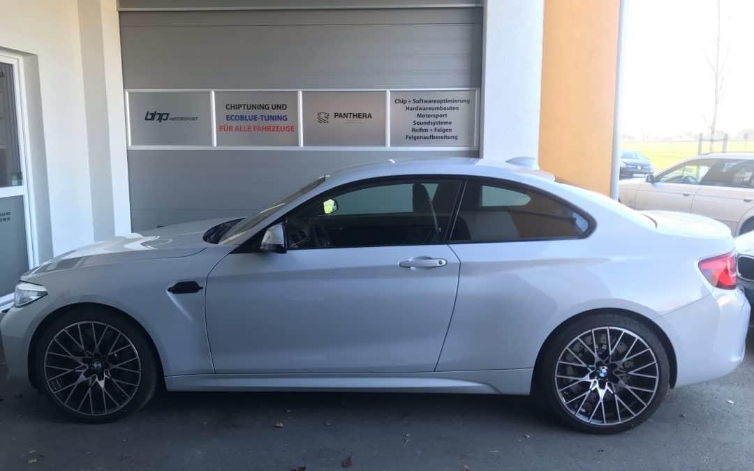 BMW M2 Competition Kennfeldoptimierung