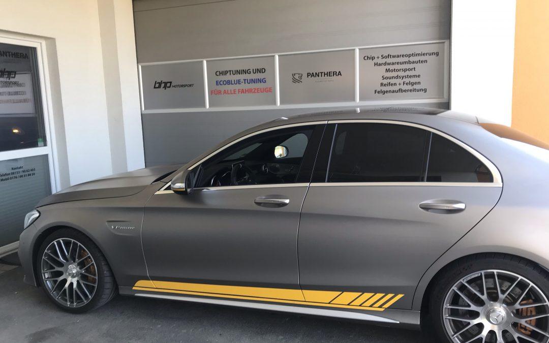 Mercedes AMG C63 S Kennfeldoptimierung